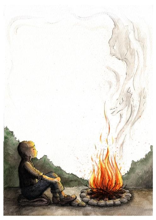 Agata Karpińska - O czym ogień opowiada; Czyta #TataMariusz