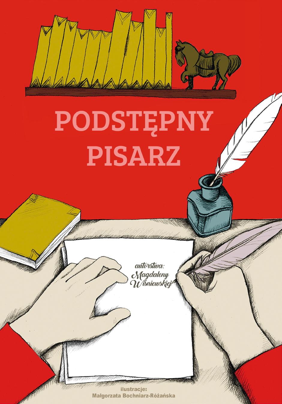Akcja Book.SZPAN - Czerwiec - Podstępny pisarz