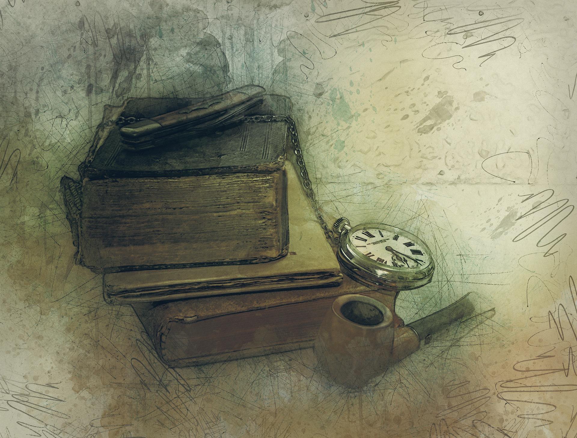 Anna Kaca - Mijający czas; Rys. Pixabay
