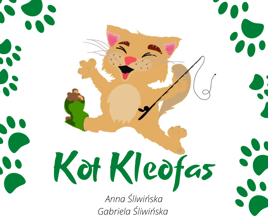 Anna Śliwińska - Kot Kleofas; Rys. Gabriela Śliwińska