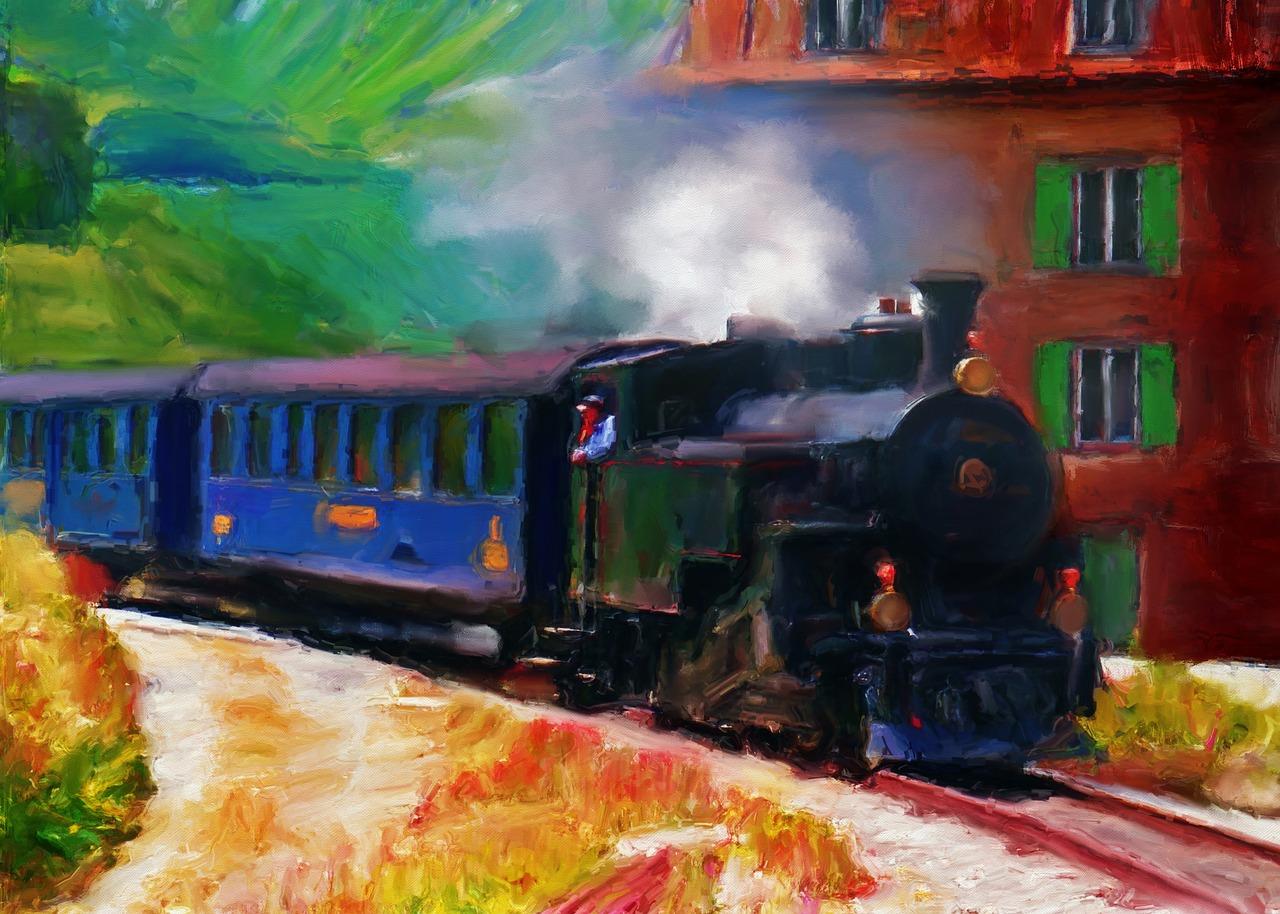 Arkadiusz Łakomiak - Magiczny pociąg