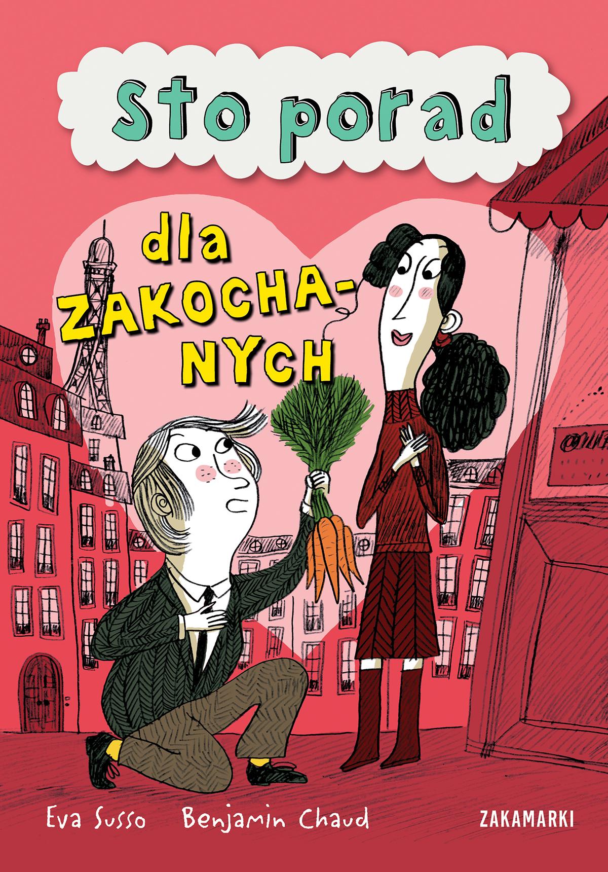 Eva Susso - Sto porad dla zakochanych (okładka) [Wyd. Zakamarki]