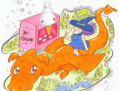 Magdalettering – Czarownica Miluna, smok Szczipsi i lody