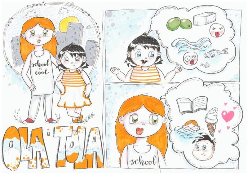 Marek Wnukowski - Ola i Tola odc. 1; Rys. Kaljah (Magdalena Kalina-Jahnke)