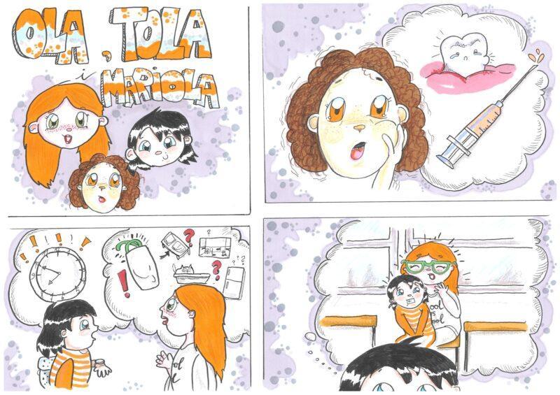Marek Wnukowski - Ola i Tola odc. 3 - Mariola; Rys. Kaljah (Magdalena Kalina-Jahnke)